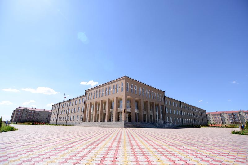 The construction of Gyumri Mush-2 district school