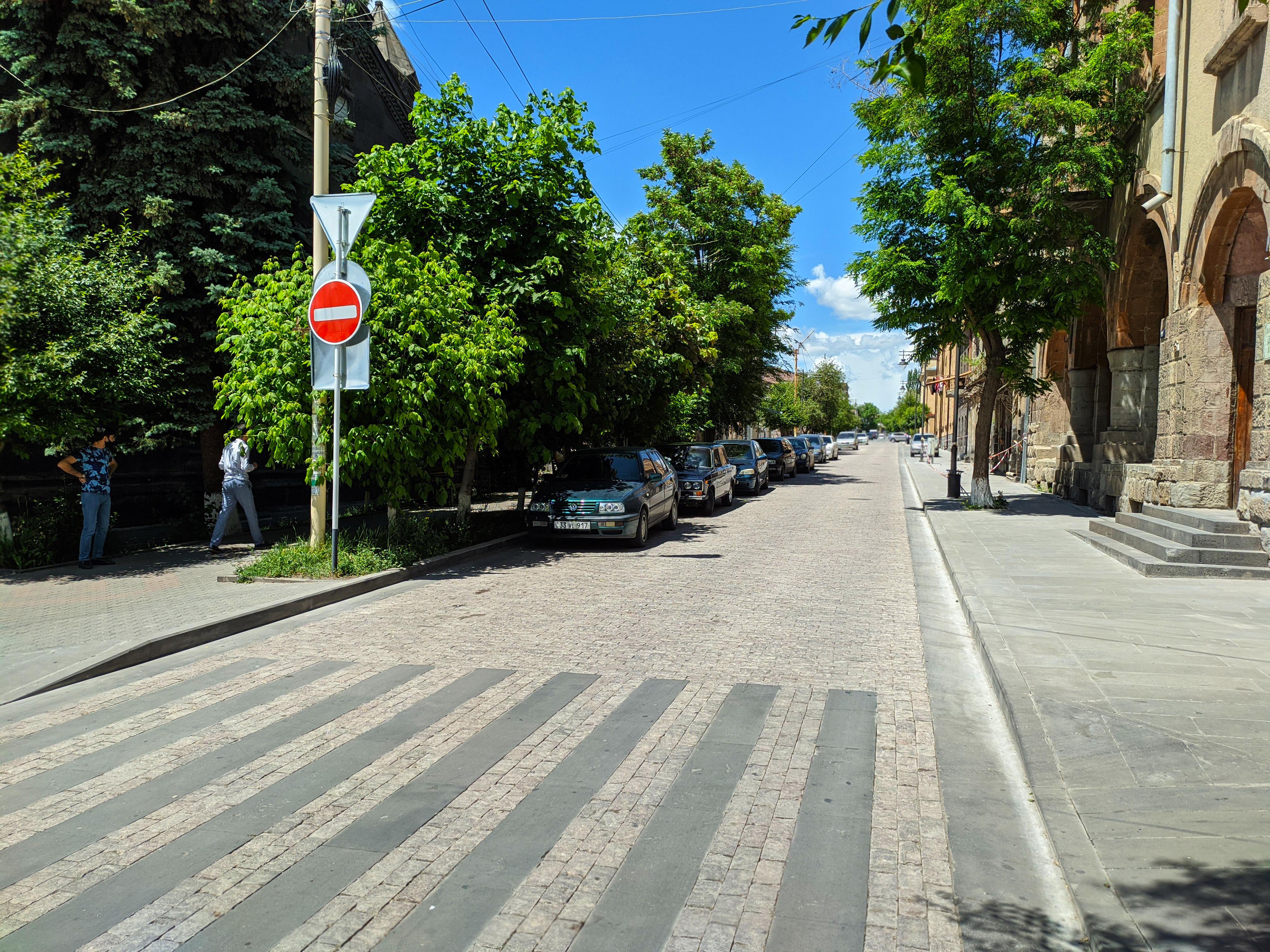 Varpetac street, Gyumri