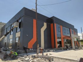 Sport and Entertainment complex in Gyumri city